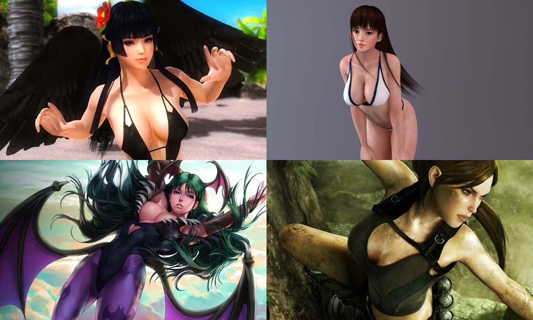 Filles les plus Sexy et Cultes des Jeux Vidéo