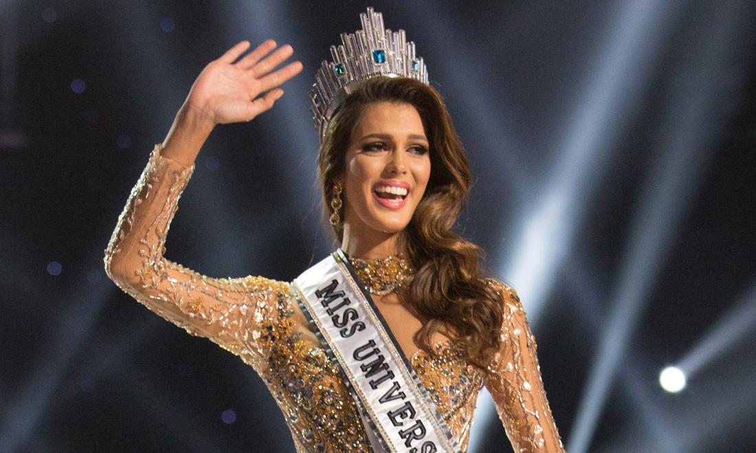 Iris Mittenaere Miss France 2016 élue Miss Univers 2016