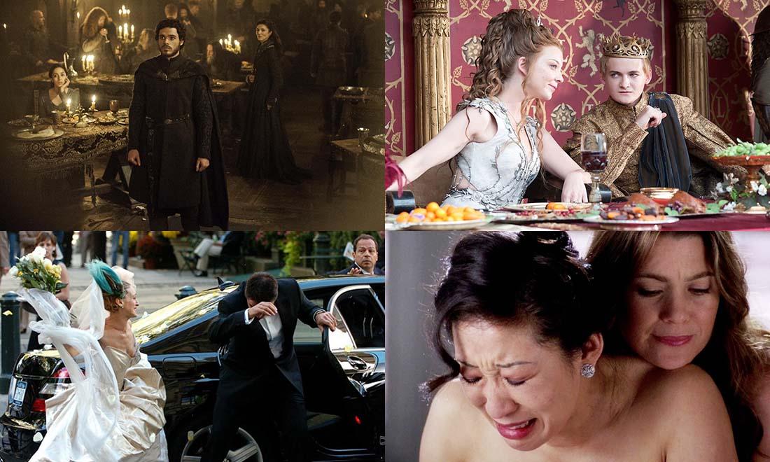 Les Pires Mariages dans les Séries TV