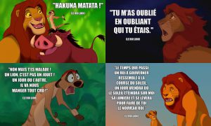 Phrase Culte Roi Lion