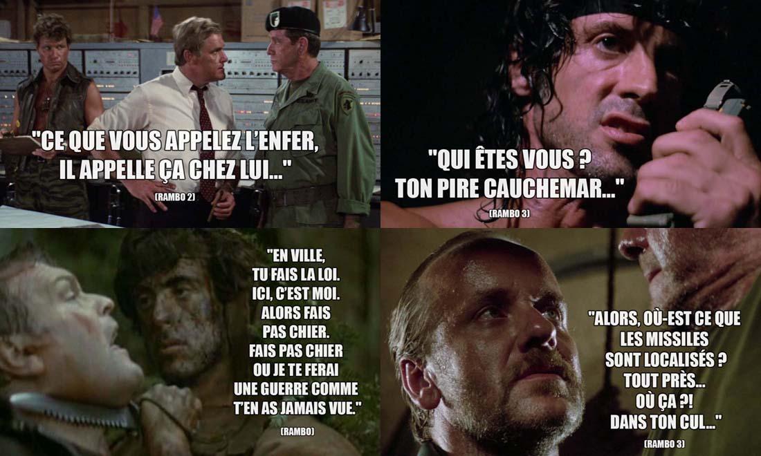 Phrase Culte dans Rambo