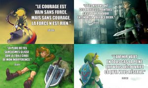 Phrase Culte dans Zelda