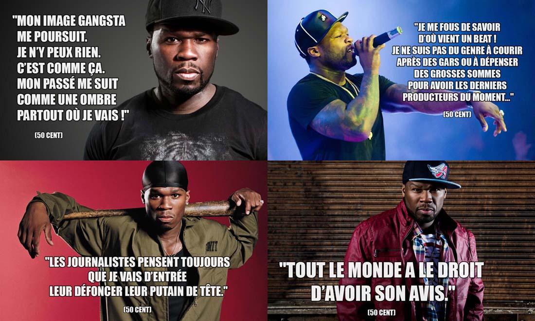 Phrase Culte de 50 Cent