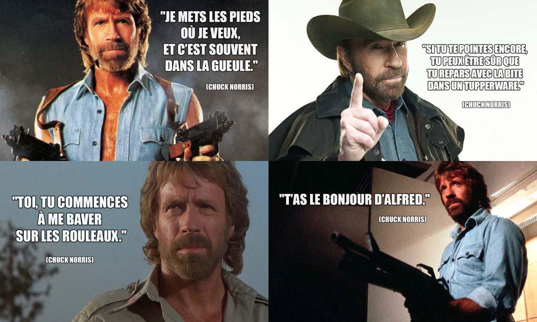 Phrase Culte de Chuck Norris