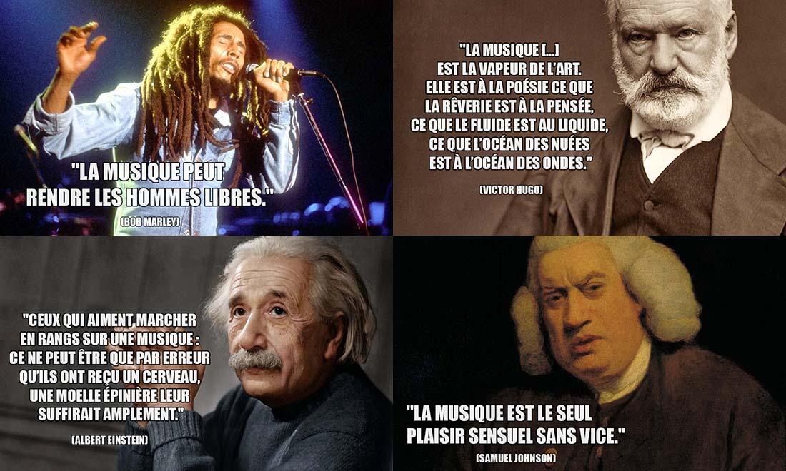 Phrase Culte de Musique