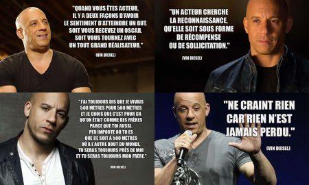 Phrase Culte de Vin Diesel