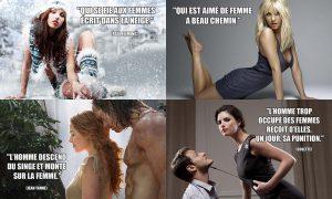 Phrase Culte sur les Femmes