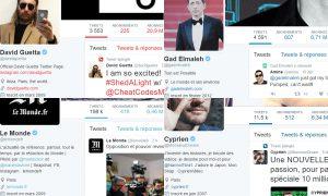Plus gros comptes Twitter Français