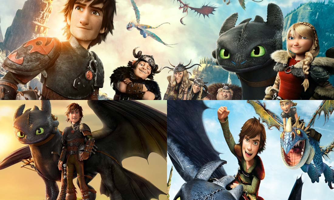 Trilogie film Dragon