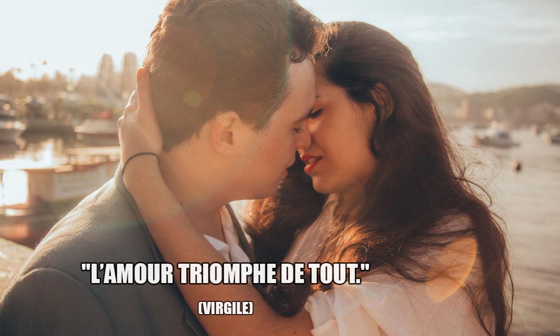 Virgile: L'amour triomphe de tout.