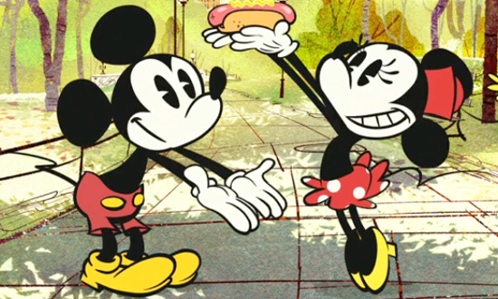 Mickey et Minnie (Les aventures de Mickey Mouse)