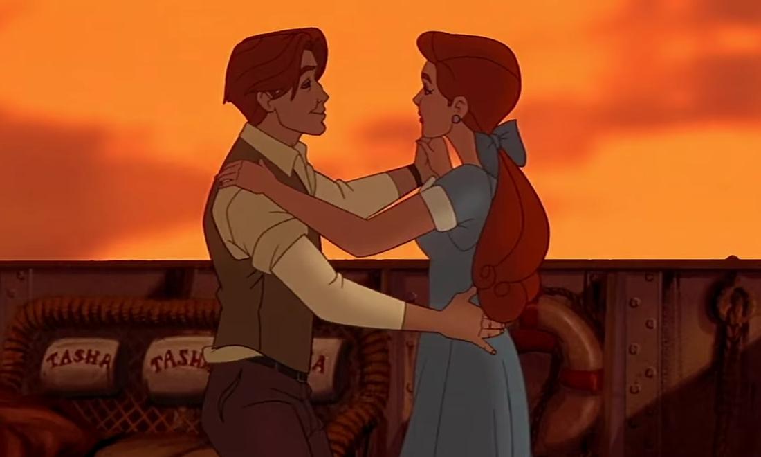 Anastasia et Dimitri (Anastasia)