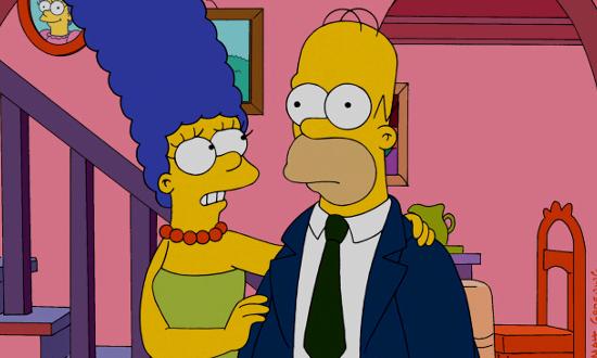 Marge et Homer (Les Simpson)