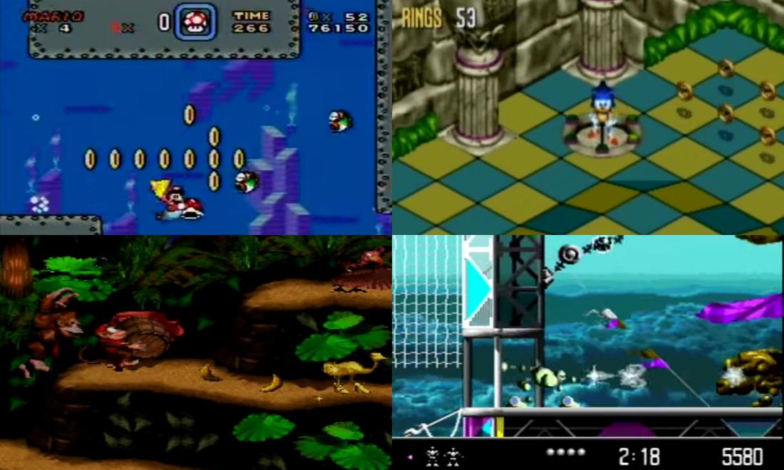 Jeux Cultes Consoles 16 Bits