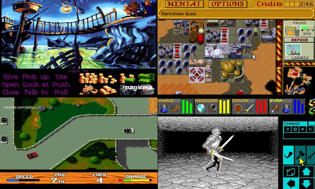 Jeux Cultes sur Amiga