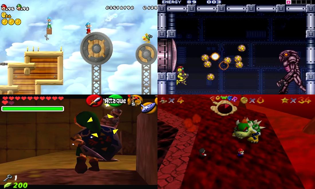 Jeux Cultes sur Consoles Nintendo