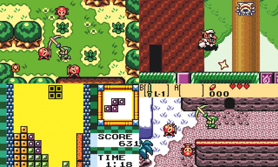 Jeux Cultes sur Game Boy Color Nintendo