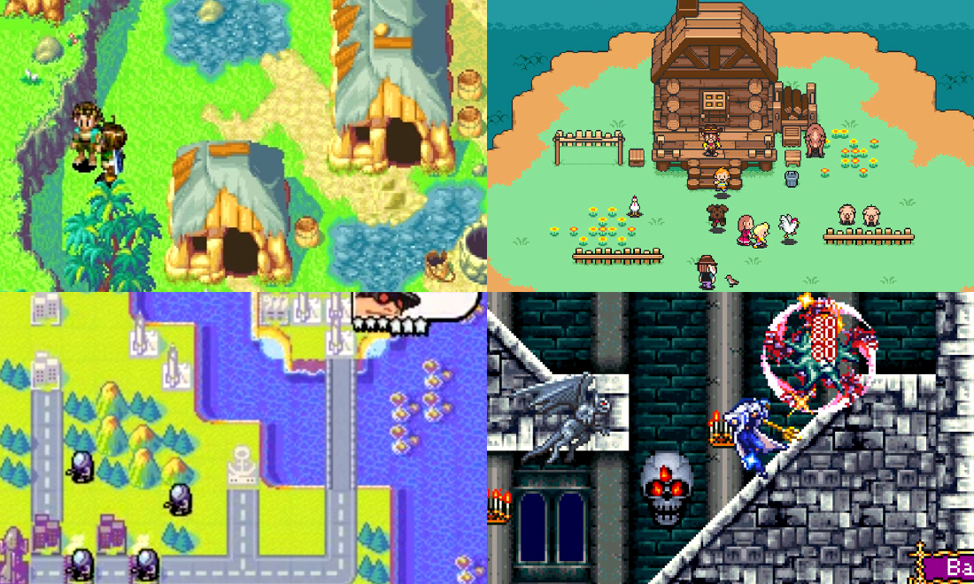 Jeux Cultes sur Gba Nintendo