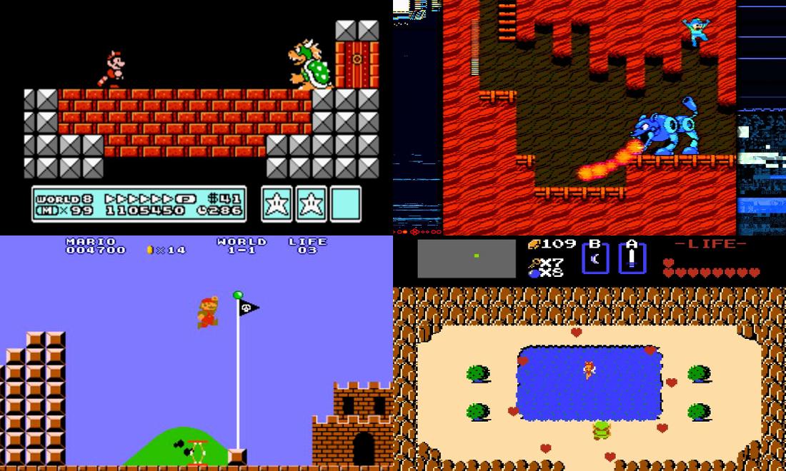 Jeux Cultes sur NES Nintendo