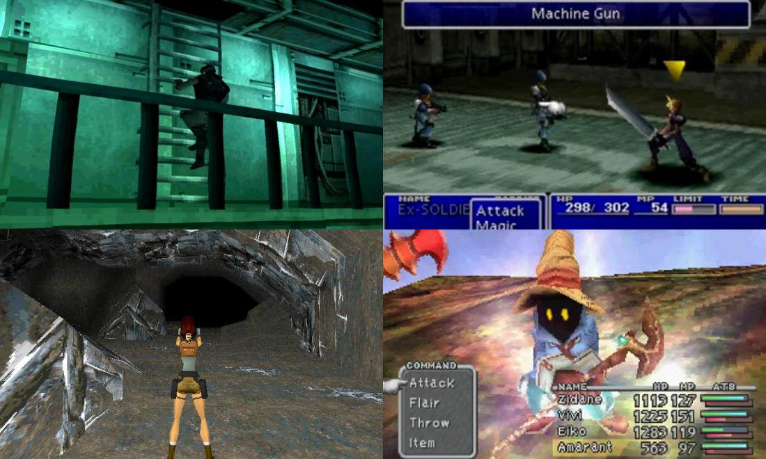 Jeux Cultes sur PS1 Sony