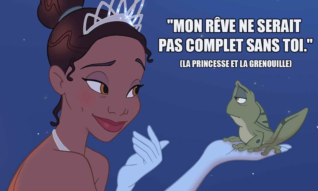la princesse et la grenouille mon reve ne serait pas complet sans toi