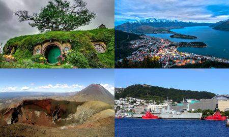 Lieux Cultes en Nouvelle Zélande