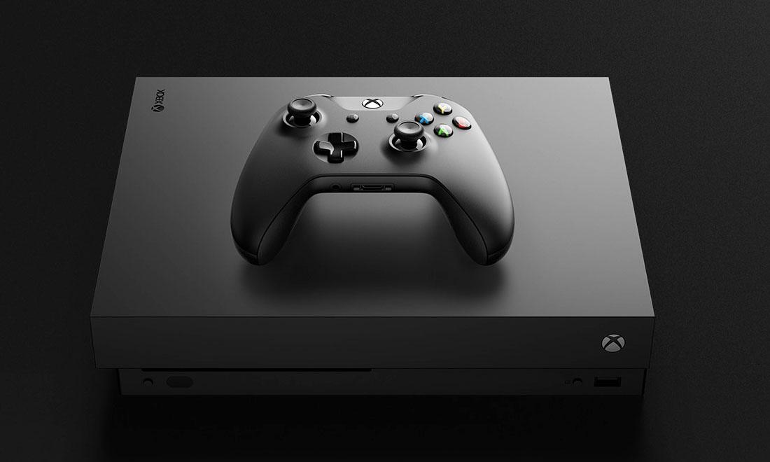 Microsoft dévoile la Xbox One X