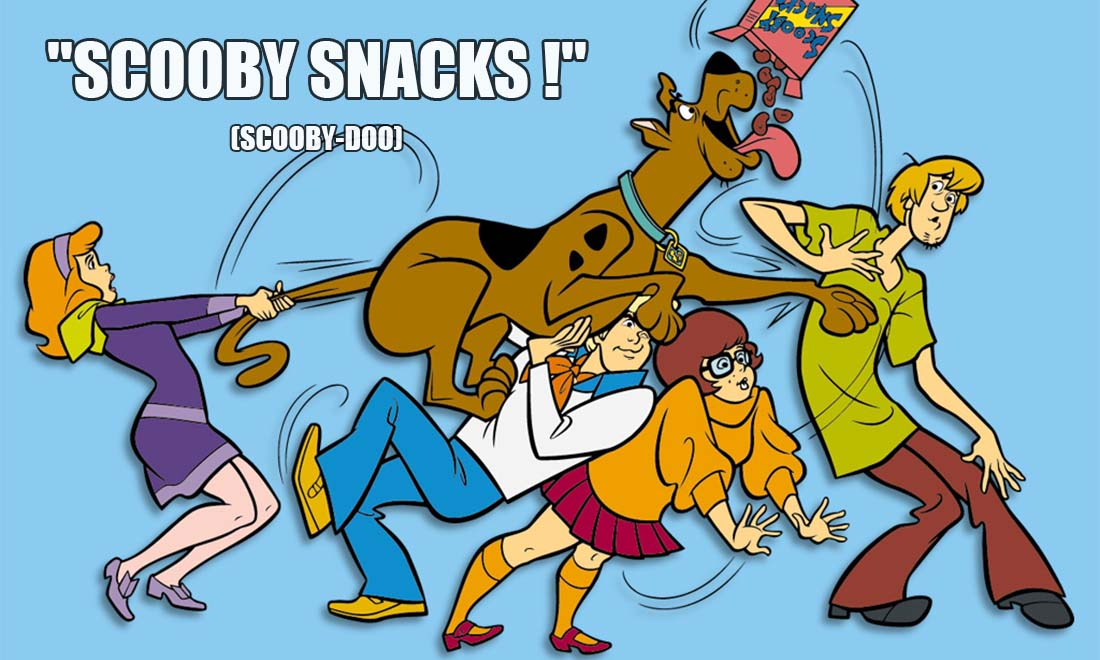 scooby dooo scooby snacks