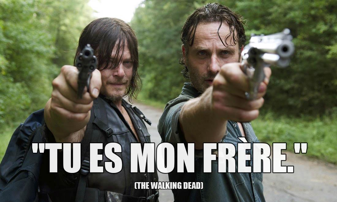 The Walking Dead: Tu es mon frère.