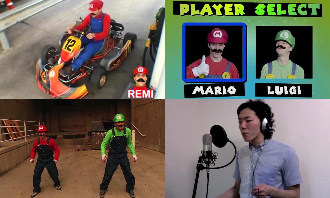 Vidéos Cultes du Web sur Super Mario