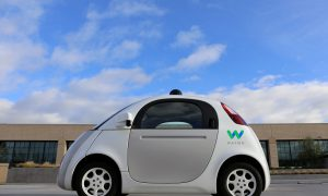 Waymo voiture sans conducteur de Google