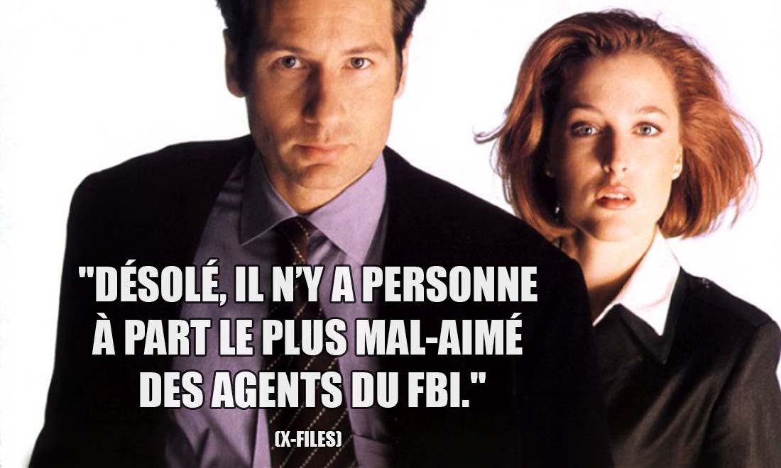 X-Files: Désolé, il n'y a personne à part le plus mal-aimé des agents du FBI.