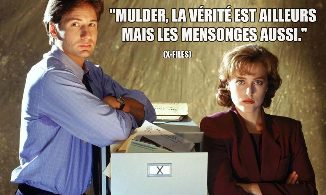 X-Files: Mulder, la vérité est ailleurs mais les mensonges aussi.